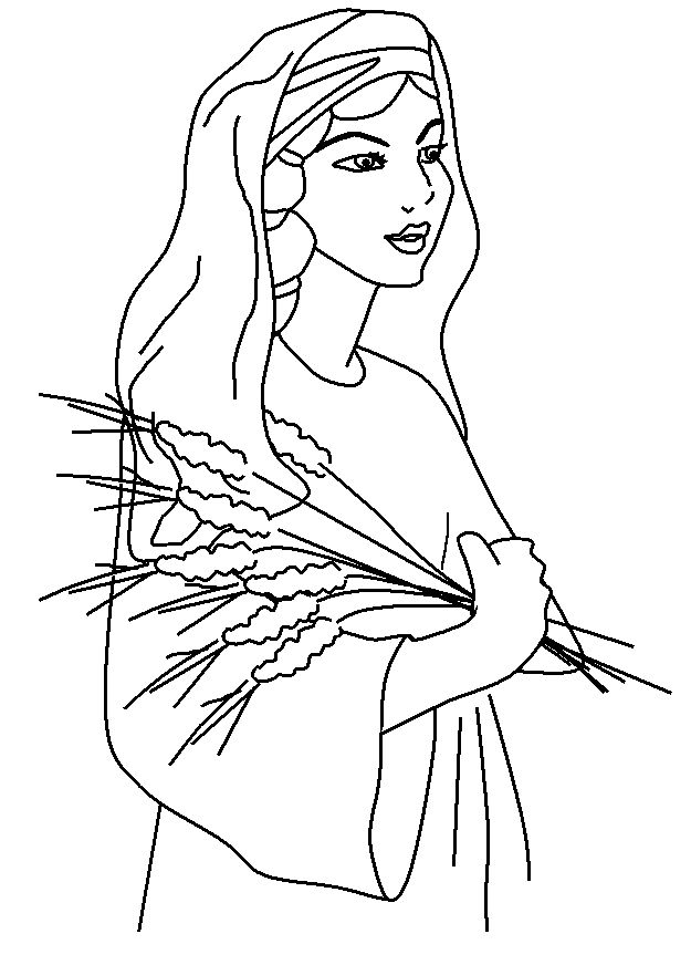 ruth and naomi coloring page pathways to primary come follow me for families ruth and and page coloring ruth naomi