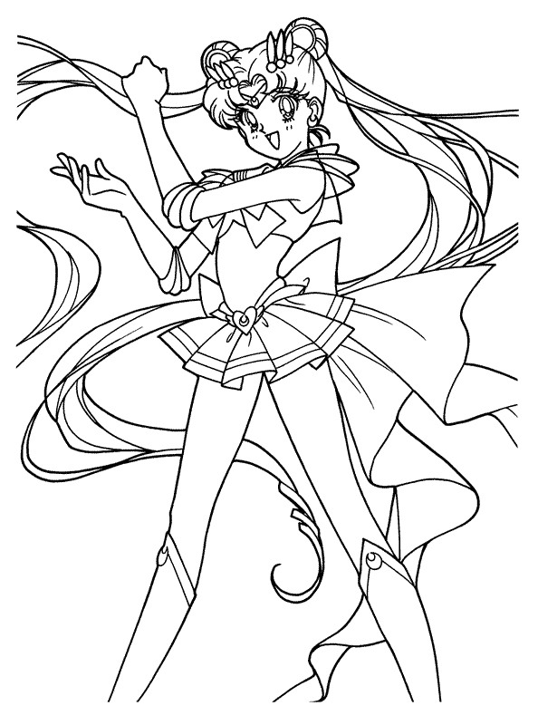 sailor moon coloring pages sailor moon coloring pages 3 educative printable pages sailor moon coloring