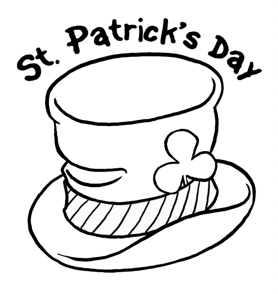 saints coloring pages to print 6 printable whimsical st patrick39s day coloring pages saints to coloring pages print