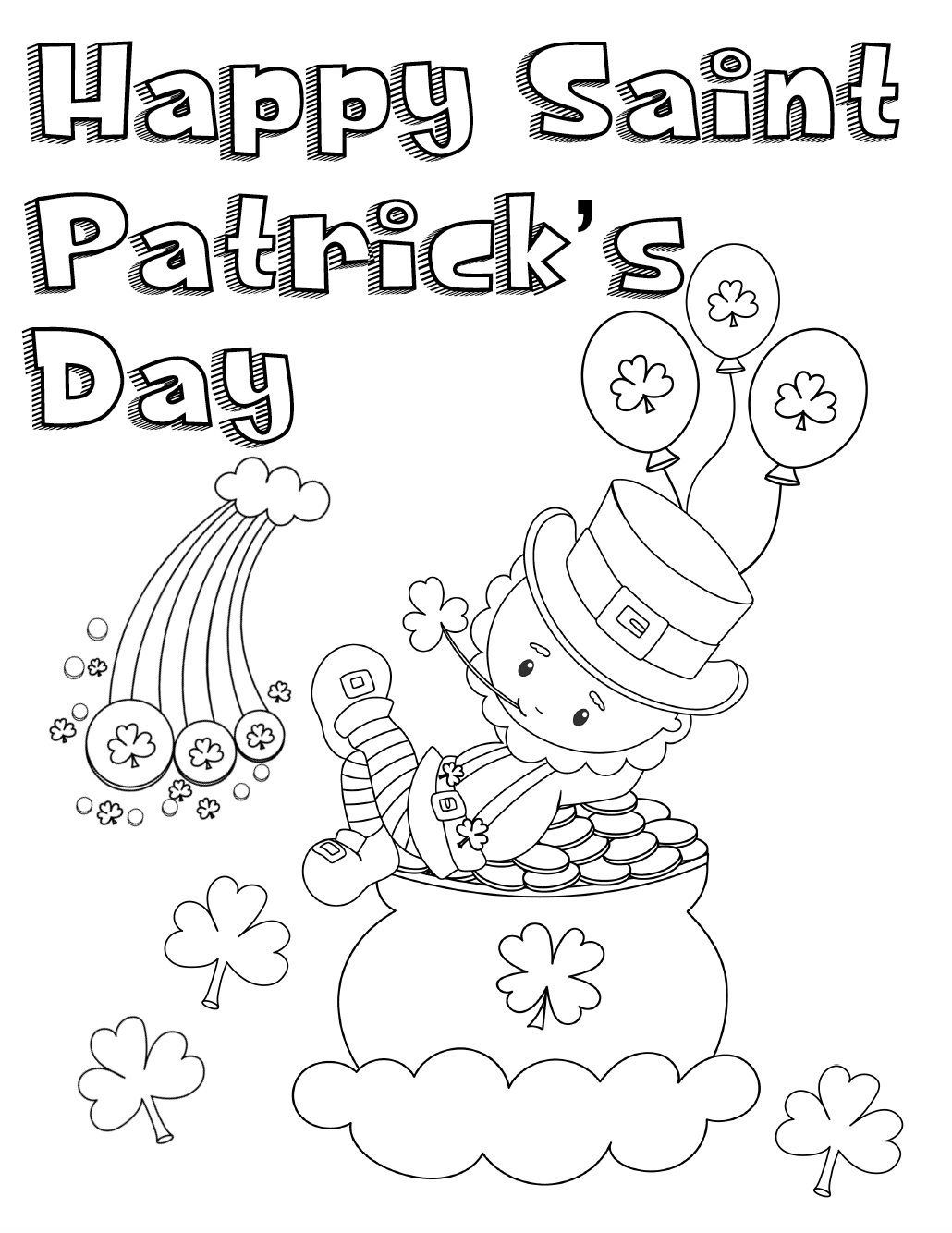 saints coloring pages to print free printable st patricks day coloring pages 4 designs to coloring print saints pages