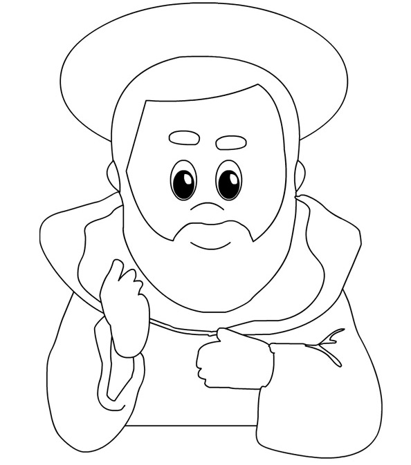 saints coloring pages to print paper dali free saint patrick coloring page printable to pages saints print coloring