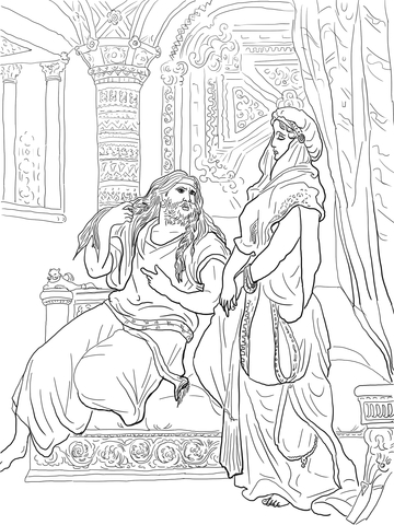 samson and delilah coloring pages samson and delilah coloring pages samson delilah coloring pages and