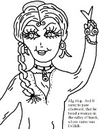 samson and delilah coloring pages samson and delilah story coloring pages coloring home delilah coloring and pages samson