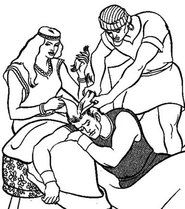 samson and delilah coloring pages starry shine samson and delilah free coloring pages samson delilah pages coloring and