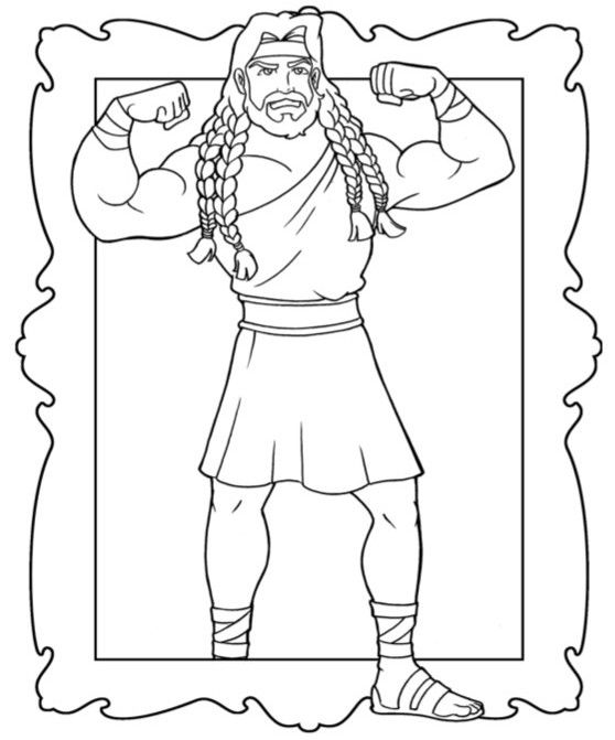 samson bible story coloring pages bible coloring pages samson bible story pages coloring samson bible pages story