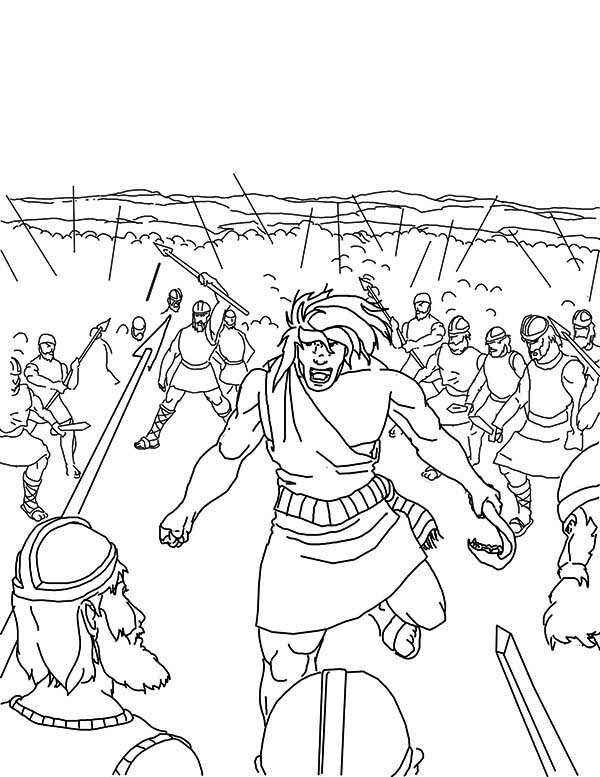 samson bible story coloring pages samson bible coloring pages at getdrawings free download pages story samson coloring bible