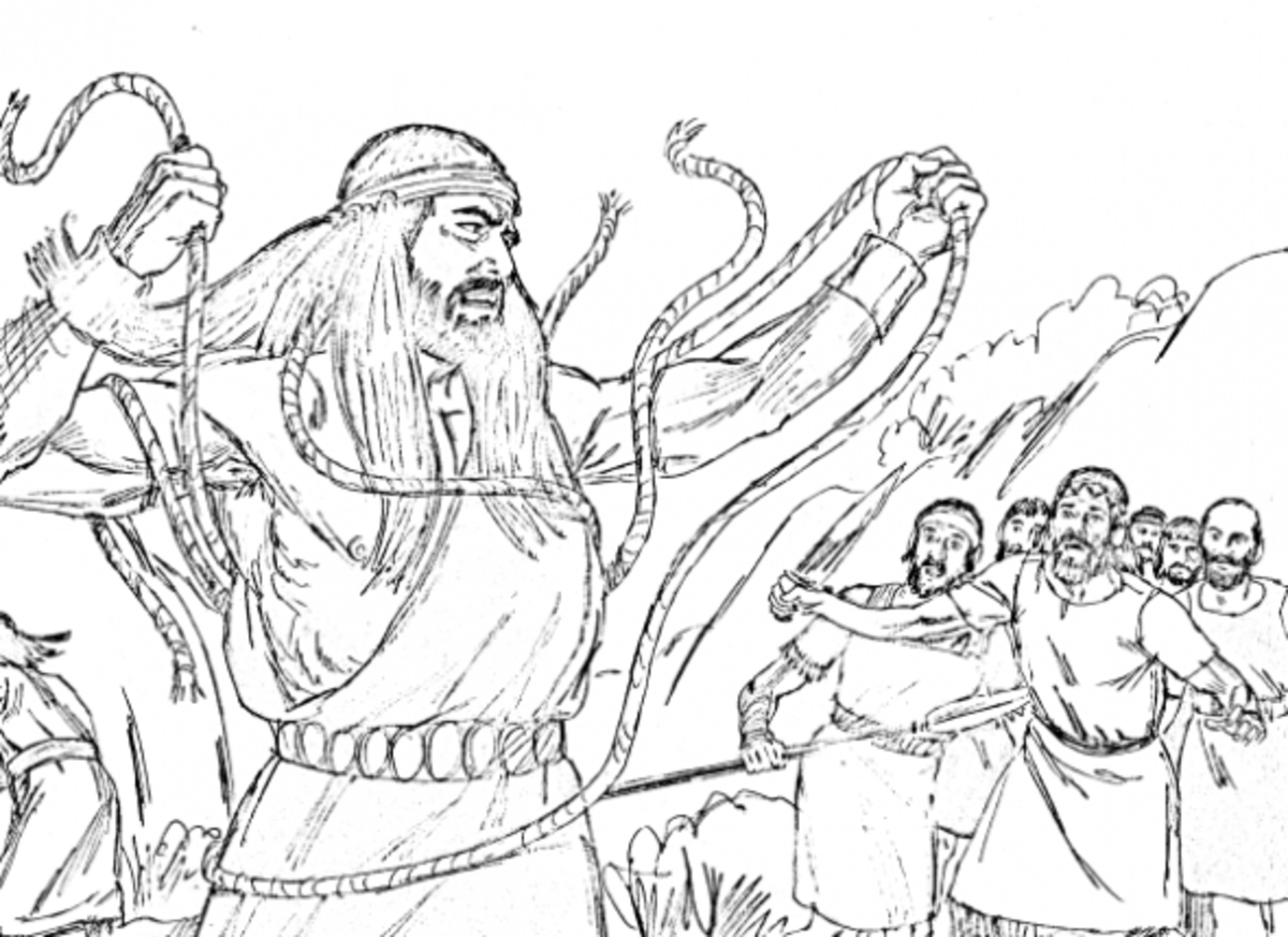samson bible story coloring pages samson bible craft strong samson connect the dots bible samson pages story coloring
