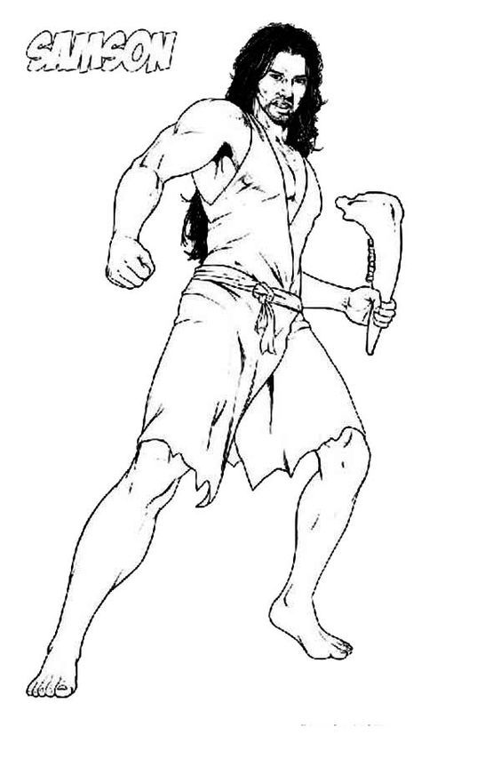 samson bible story coloring pages samson coloring page by artistxero on deviantart pages story coloring samson bible