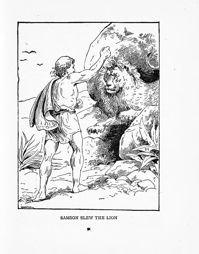 samson bible story coloring pages samson coloring page children39s ministry deals samson pages story coloring bible