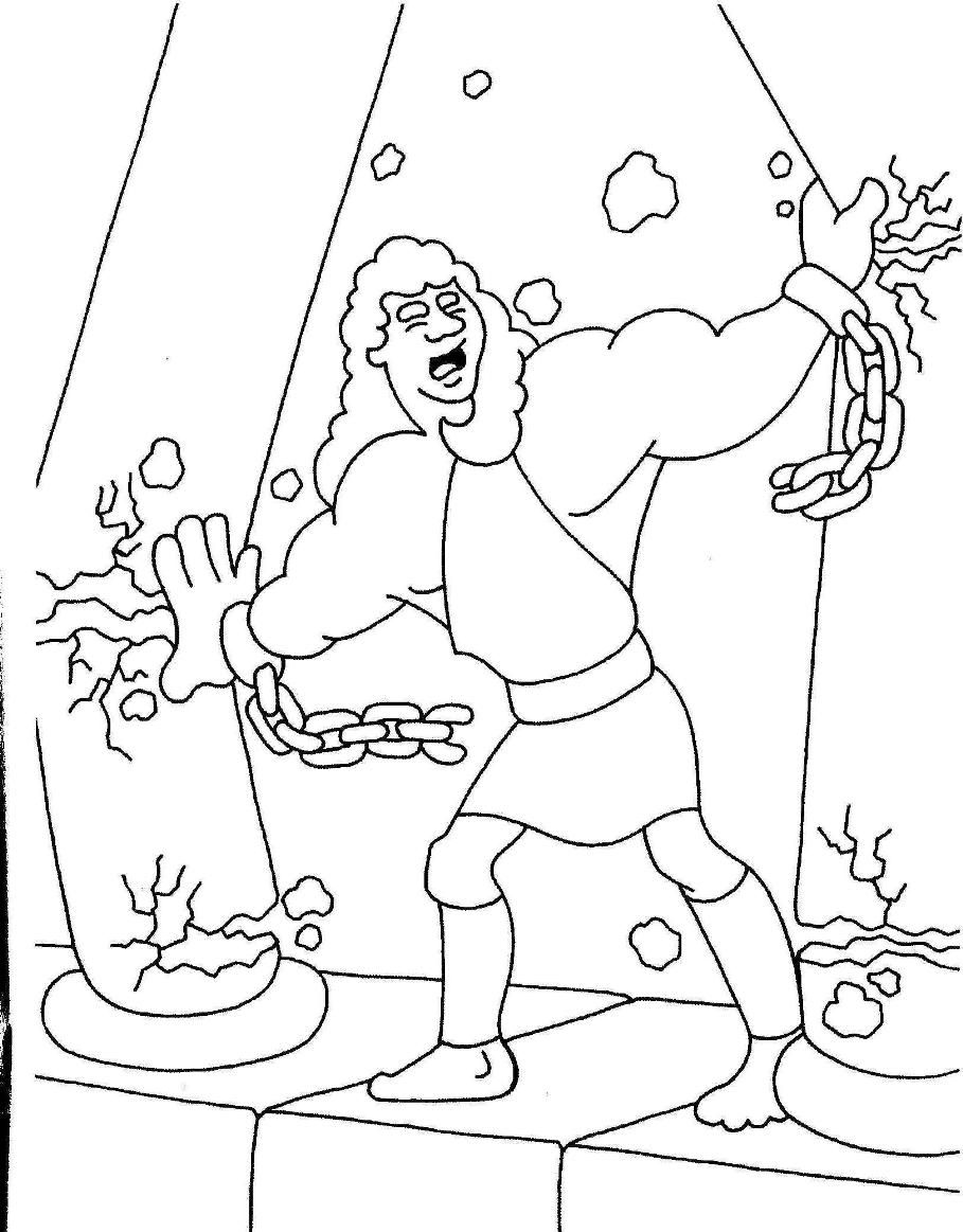 samson bible story coloring pages the best free samson coloring page images download from pages coloring story bible samson