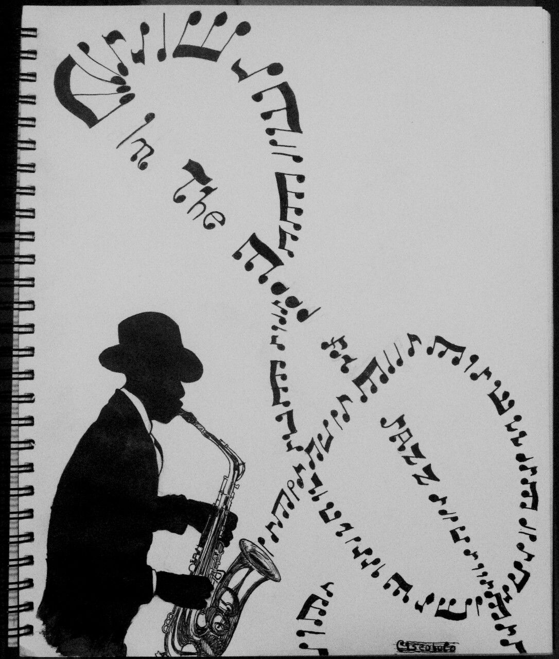 saxophone pencil drawing drawn still life musical instrument pencil and in color saxophone pencil drawing