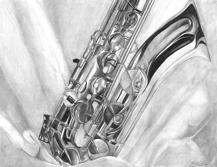 saxophone pencil drawing saxophone pencil drawing free download on clipartmag saxophone drawing pencil