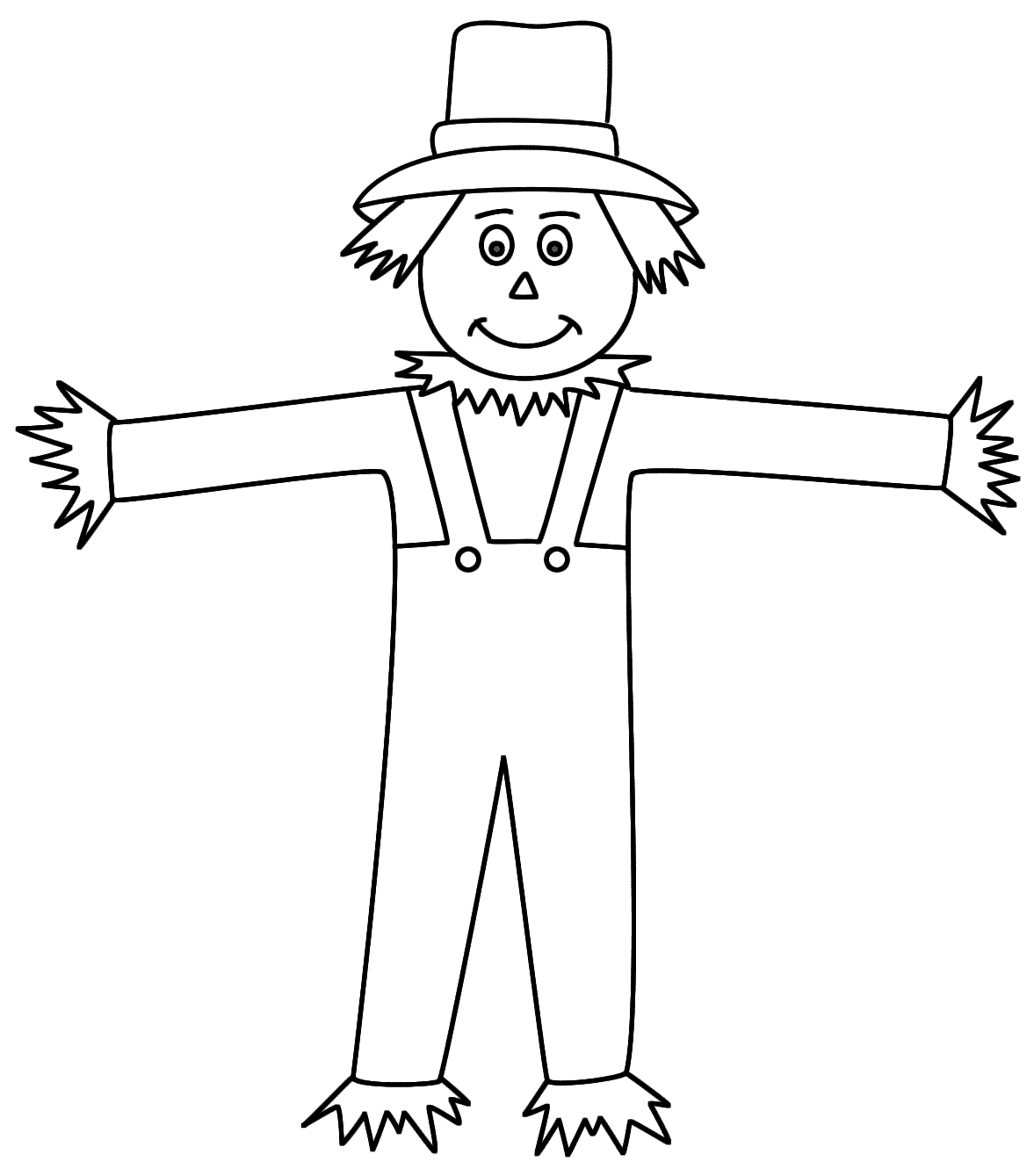 scarecrow for coloring scarecrow coloring pages coloring home for coloring scarecrow