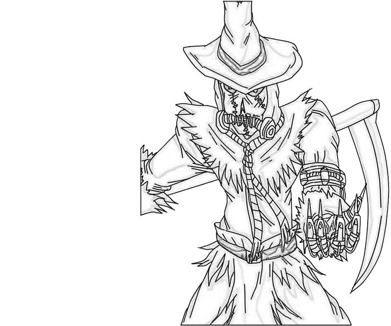 scarecrow for coloring scarecrow drawing at getdrawings free download scarecrow coloring for
