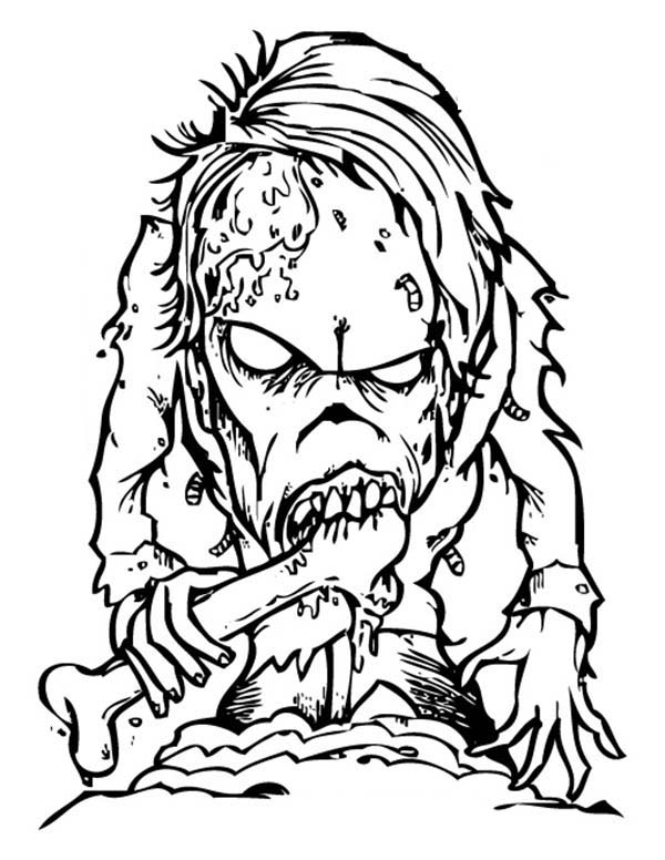 scary monster coloring pages creepy pumpkin drawing at getdrawings free download scary coloring monster pages