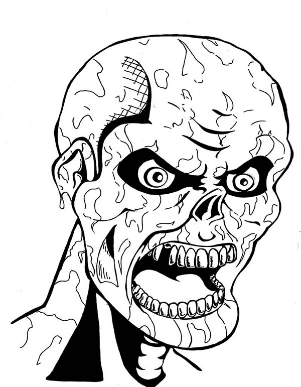 scary monster coloring pages monster coloring pages at getcoloringscom free pages coloring scary monster