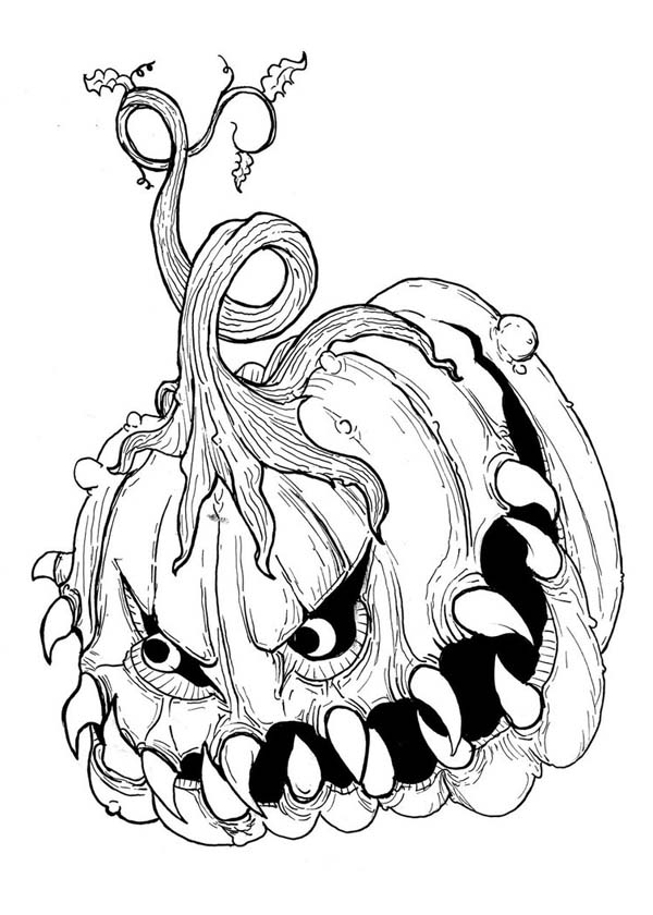 scary monster coloring pages scary cartoon coloring page coloring home coloring pages scary monster