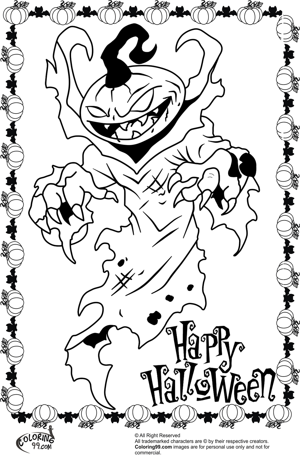 scary monster coloring pages scary hideous big eyed monster coloring page coloring sky coloring scary pages monster