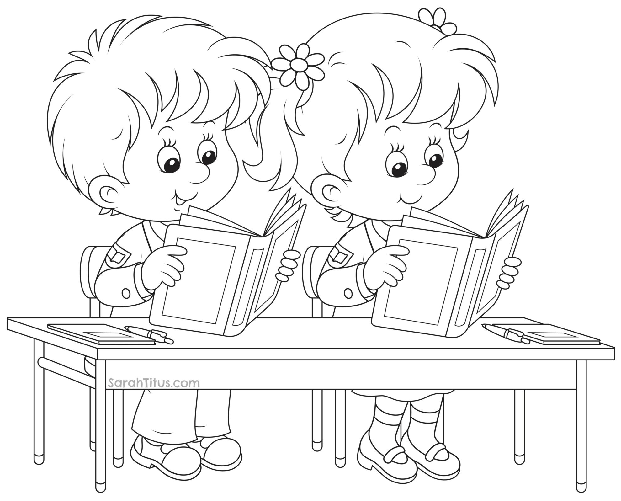 school clipart coloring back to school coloring pages sarah titus clipart school coloring