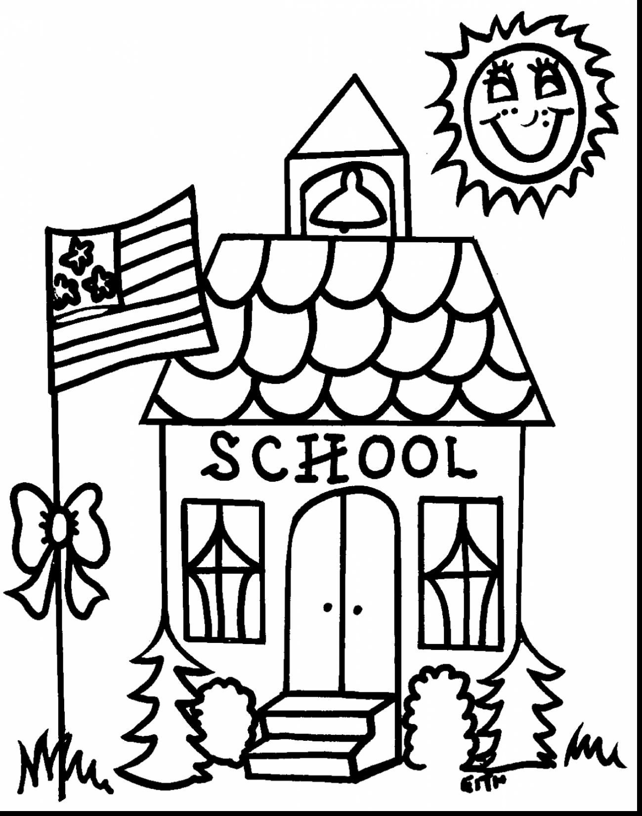 school clipart coloring free printable building clipart cergly school coloring coloring school clipart