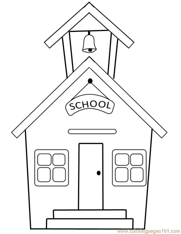 school clipart coloring school clipart template 20 free cliparts download images school clipart coloring