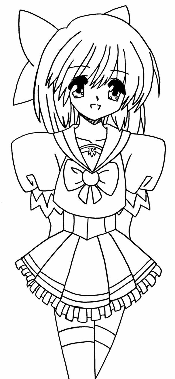 school girl coloring pages anime school girl by hope30789 on deviantart pages coloring girl school