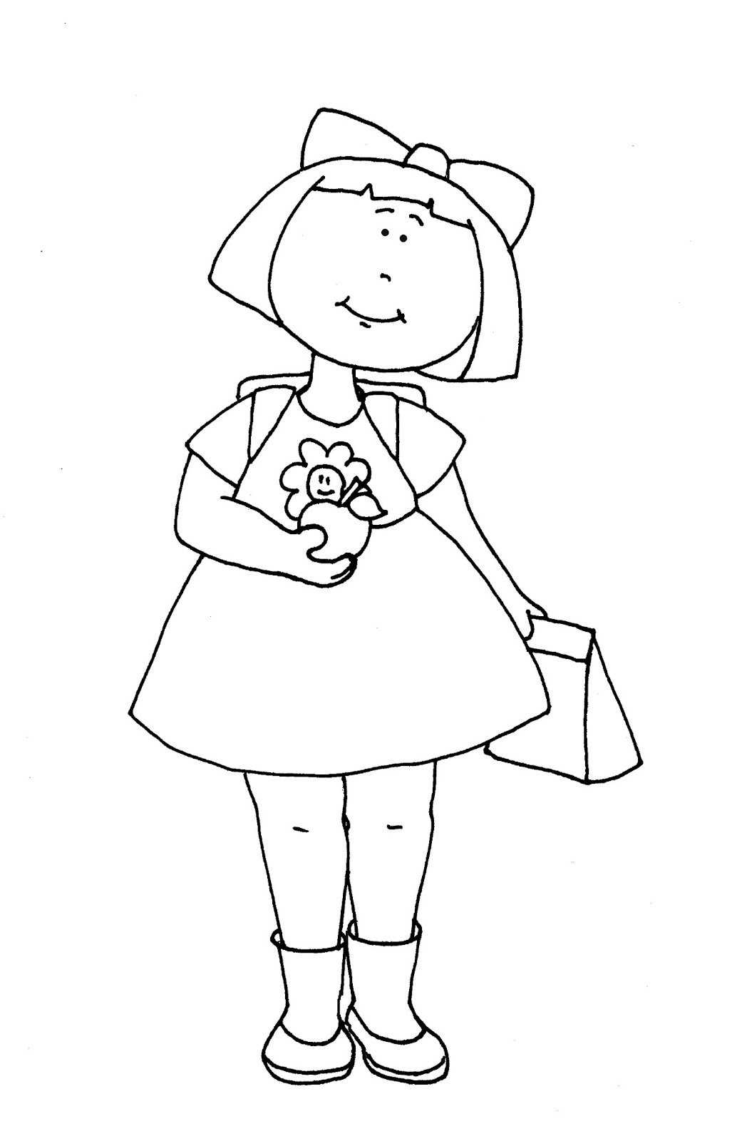 school girl coloring pages girls at school coloring pages for girls pages coloring school girl