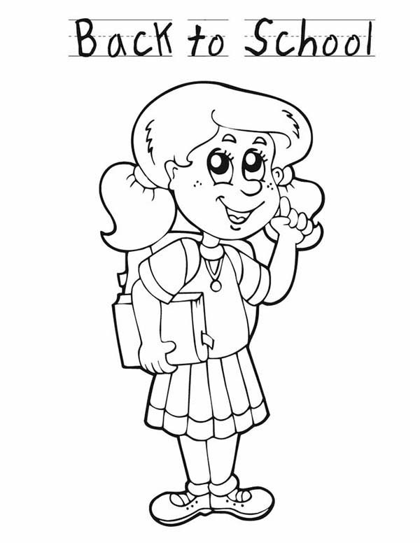 school girl coloring pages girly coloring pages school girl and sports girl free pages school coloring girl