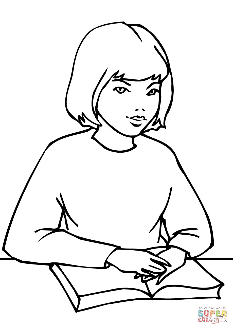 school girl coloring pages school girl coloring page free printable coloring pages school girl pages coloring