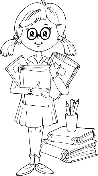school girl coloring pages schoolgirl lineart by fragnostic on deviantart pages girl coloring school