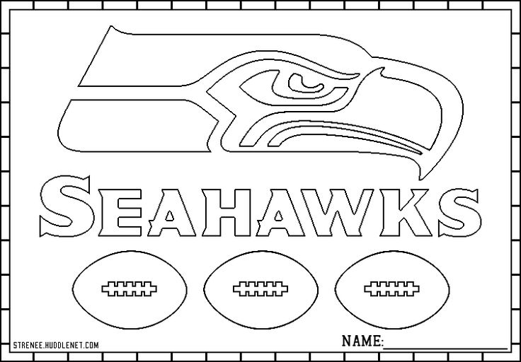 seahawks coloring pages to print seahawks coloring pages at getcoloringscom free to print coloring pages seahawks