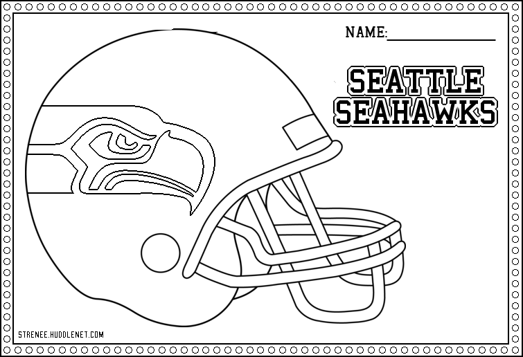 seahawks coloring pages to print seahawks logo drawing at getdrawings free download coloring seahawks to pages print