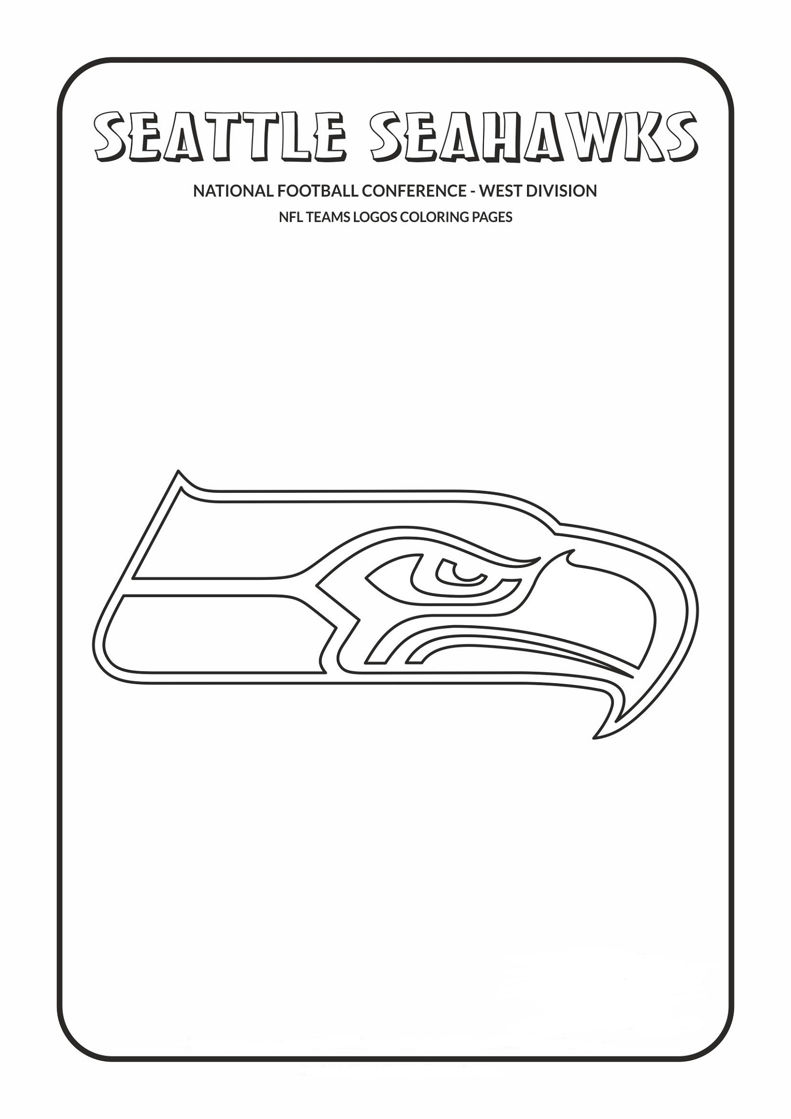 seahawks coloring pages to print seattle seahawks logo coloring pages seattle seahawks pages to seahawks coloring print