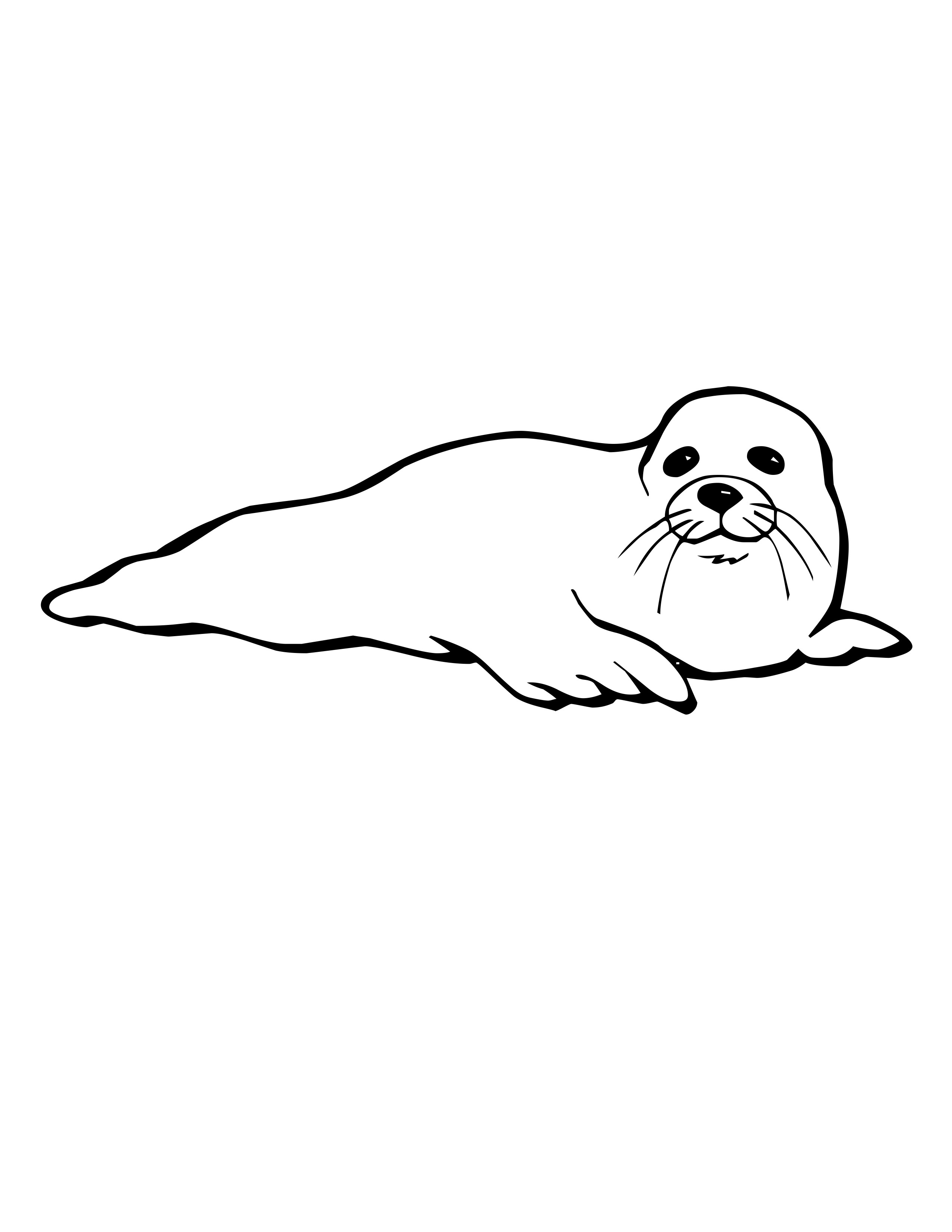 seal pictures to color seal coloring pages download and print for free to seal pictures color 1 1