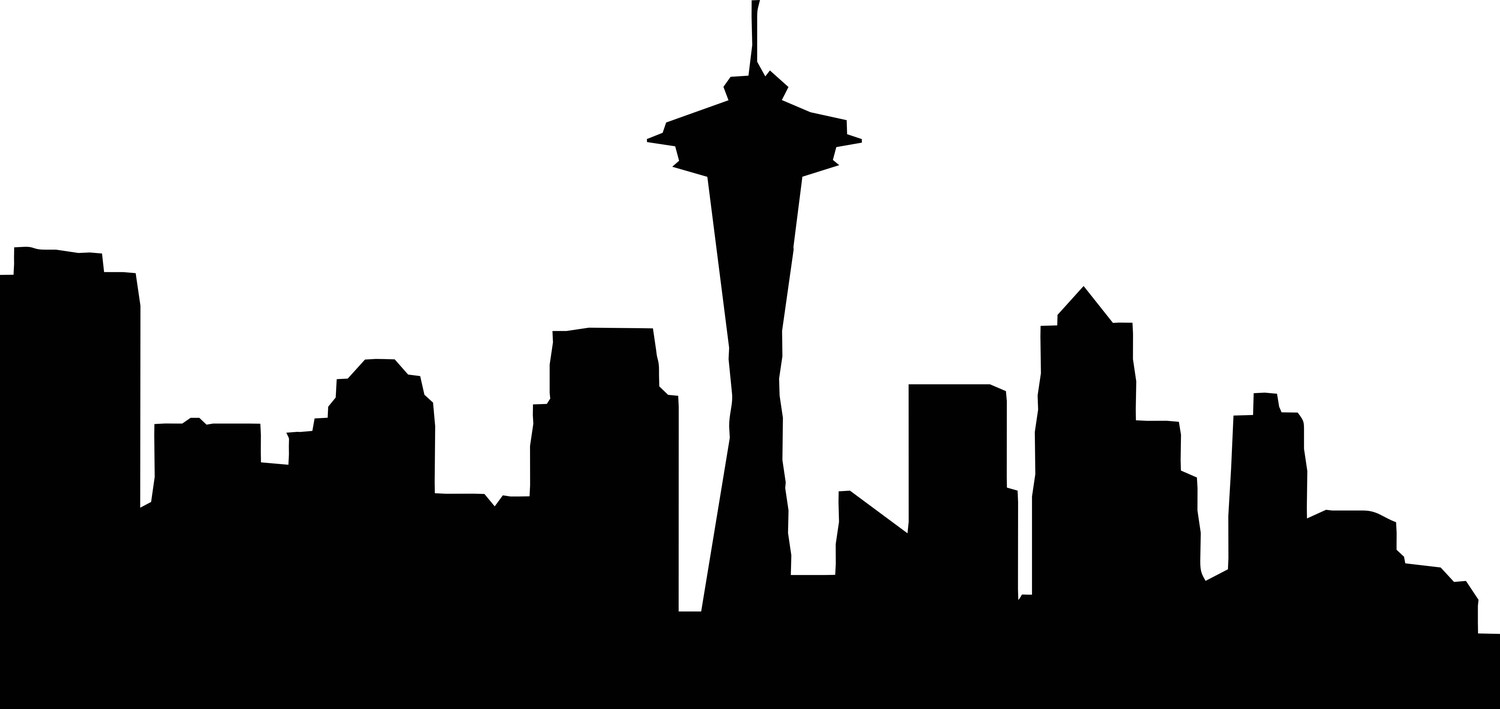 seattle skyline vector events knowledge architecture skyline vector seattle