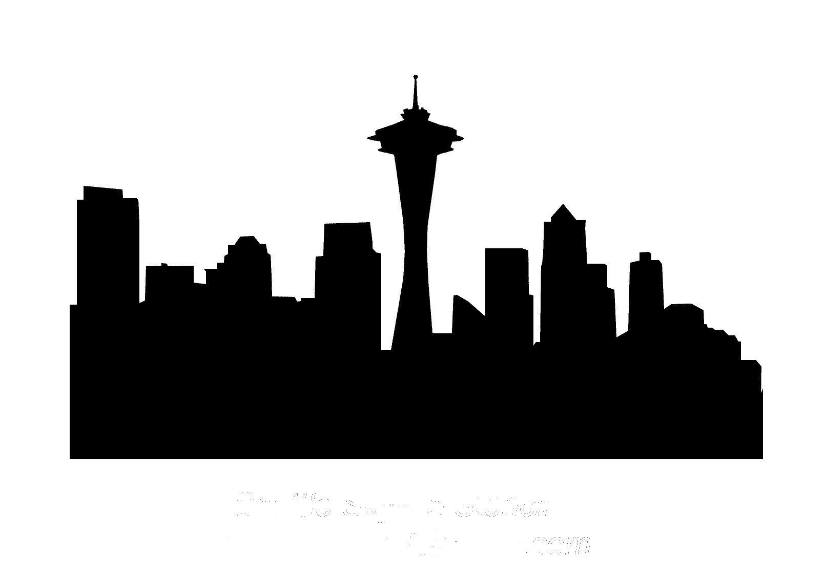 seattle skyline vector s3 episode 1 cities and their coffee cultures boise coffee vector seattle skyline