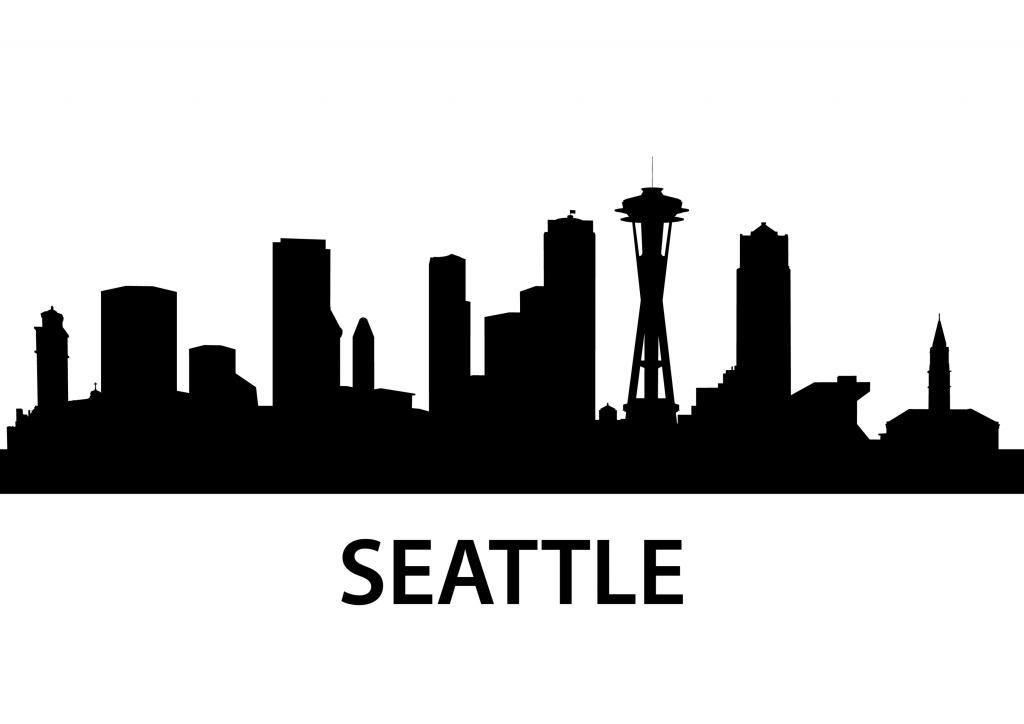 seattle skyline vector seattle skyline silhouette png 10 free cliparts download vector skyline seattle