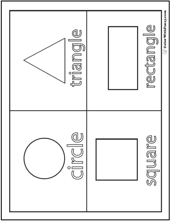 shapes coloring book 10 best images of color shapes worksheets printable coloring shapes book