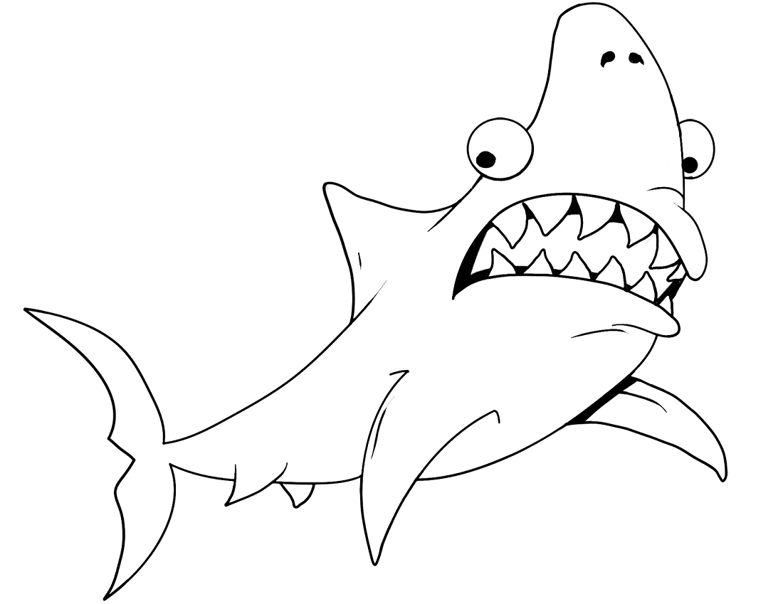 sharks coloring pages big mouth shark coloring page free printable coloring pages sharks coloring