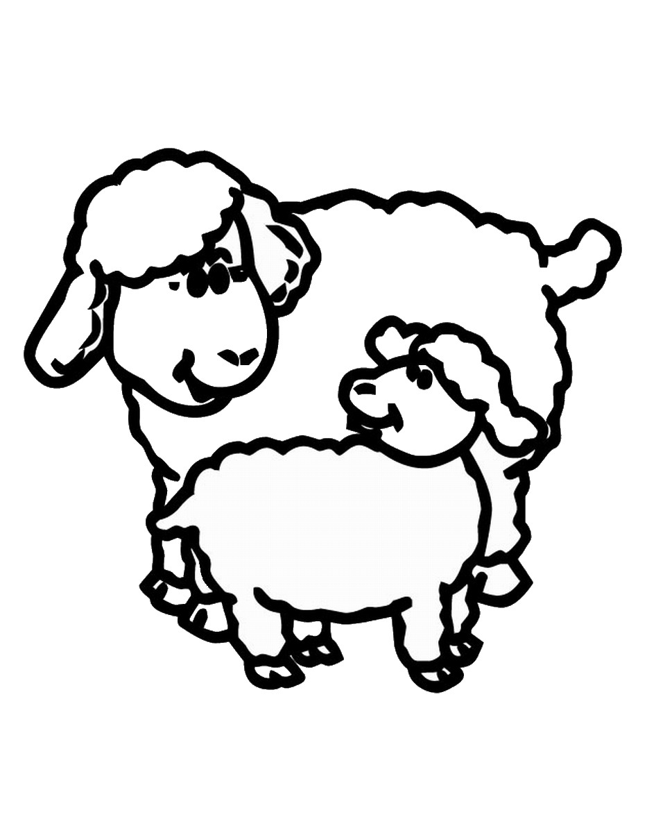sheep coloring pages free printable free printable sheep coloring pages for kids free coloring printable pages sheep