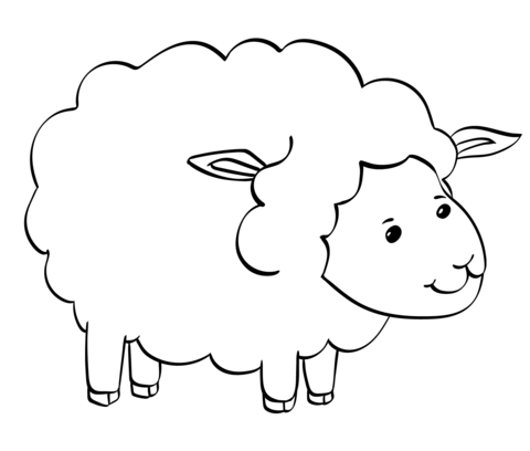 sheep coloring pages free printable free sheep pictures for kids download free clip art free sheep coloring free pages printable