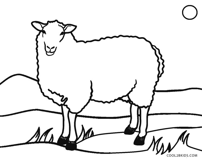 sheep coloring pages free printable get this sheep coloring pages to print bgt31 sheep coloring free pages printable