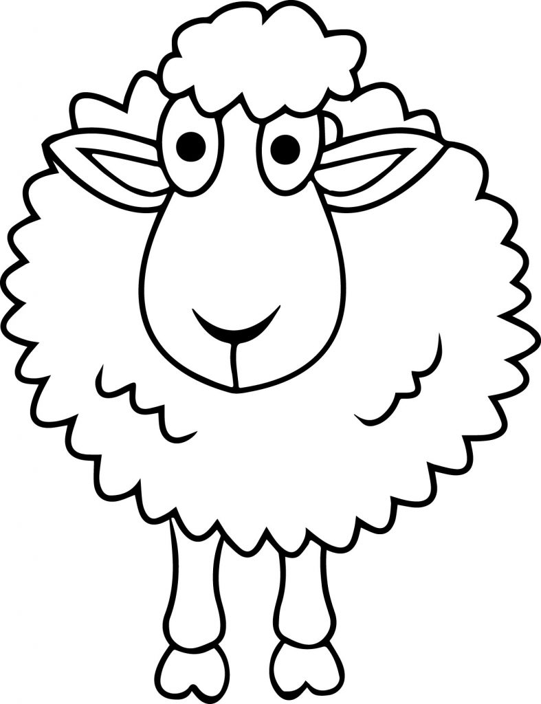 sheep coloring pages free printable sheep coloring page free sheep coloring pages printable sheep coloring free pages