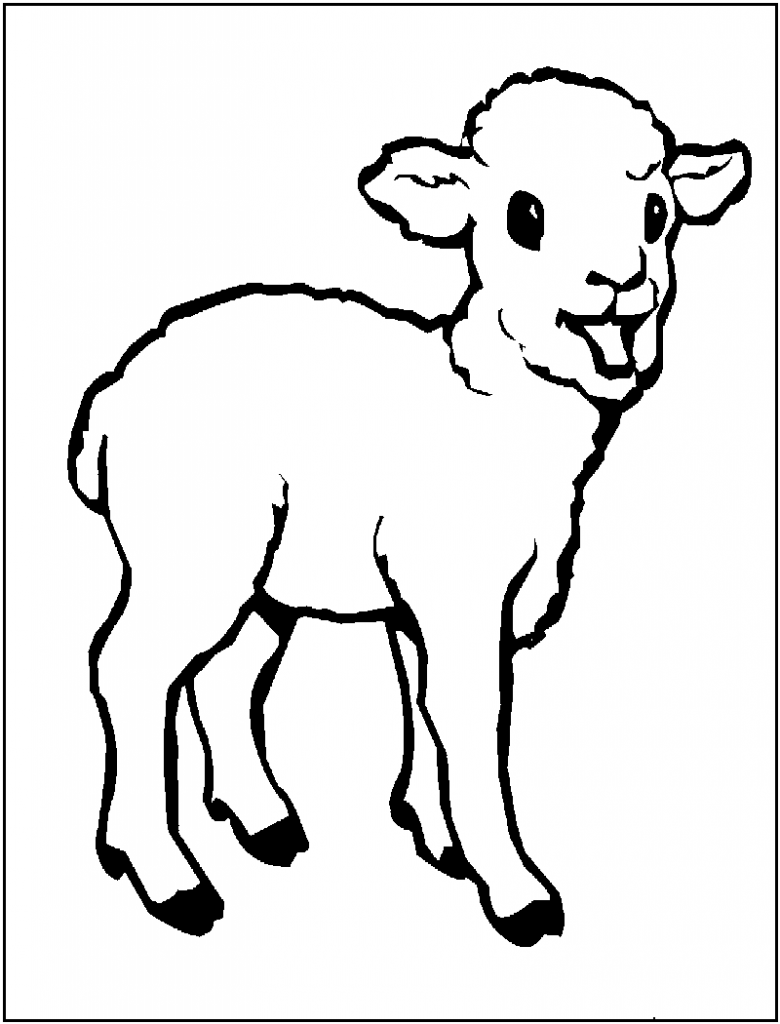 sheep coloring pages free printable sheep outline coloring page coloring home free printable sheep coloring pages