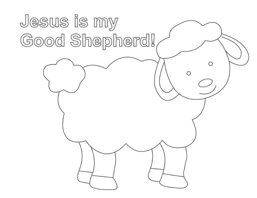sheep coloring pages preschool children39s sermon quotthe lost sheepquot luke 151 10 object lesson coloring pages sheep preschool
