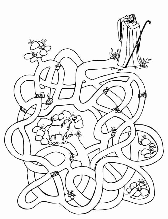 sheep coloring pages preschool lost sheep coloring page awesome the good shepherd lost sheep pages coloring preschool