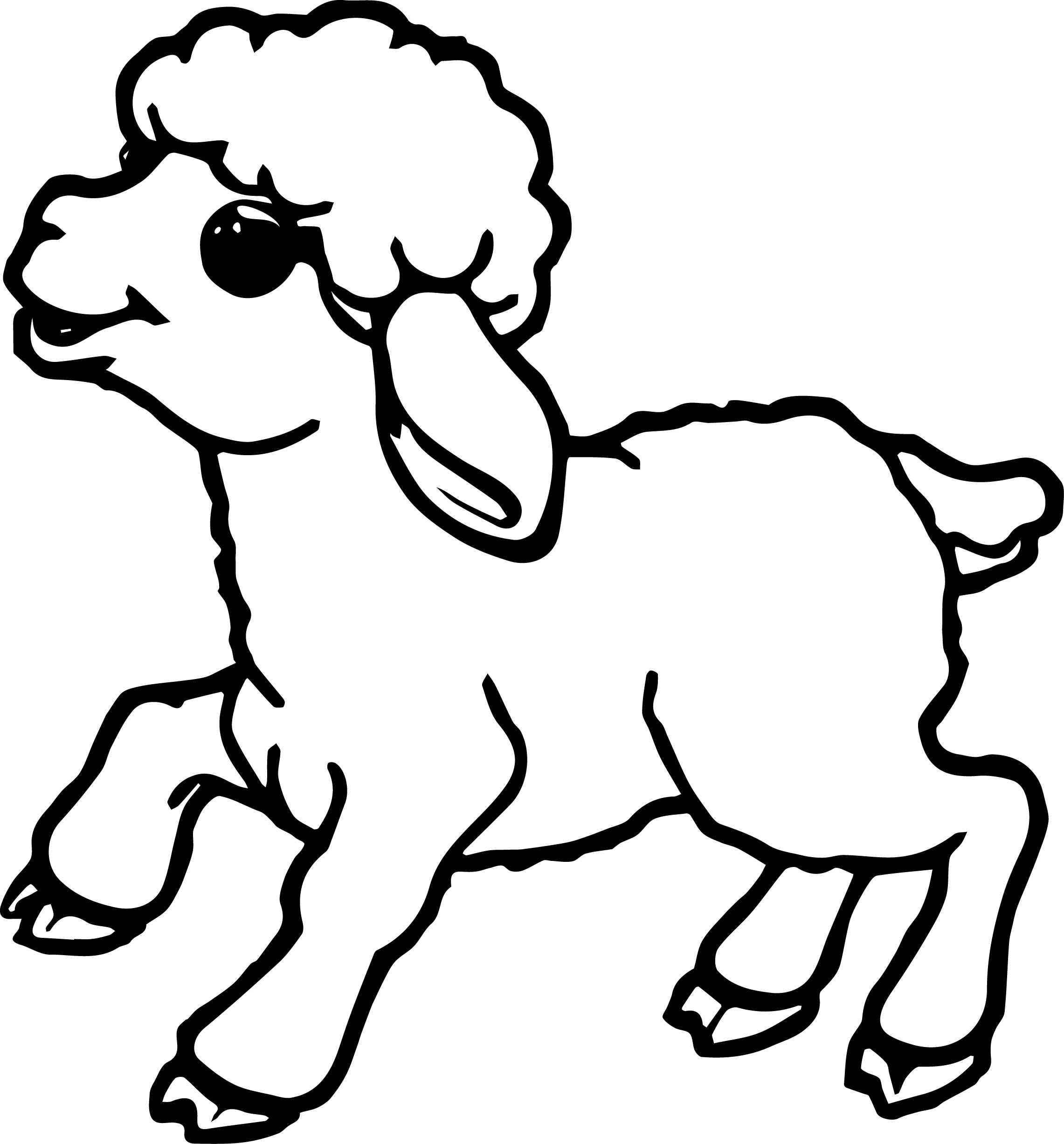sheep coloring pages preschool sheep coloring pages for preschool preschool and preschool coloring sheep pages