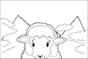 sheep coloring pages preschool sheep coloring pages for preschool preschool and preschool sheep pages coloring