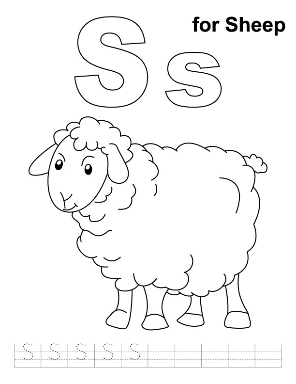 sheep coloring pages preschool sheep coloring pages preschool at getcoloringscom free coloring preschool pages sheep