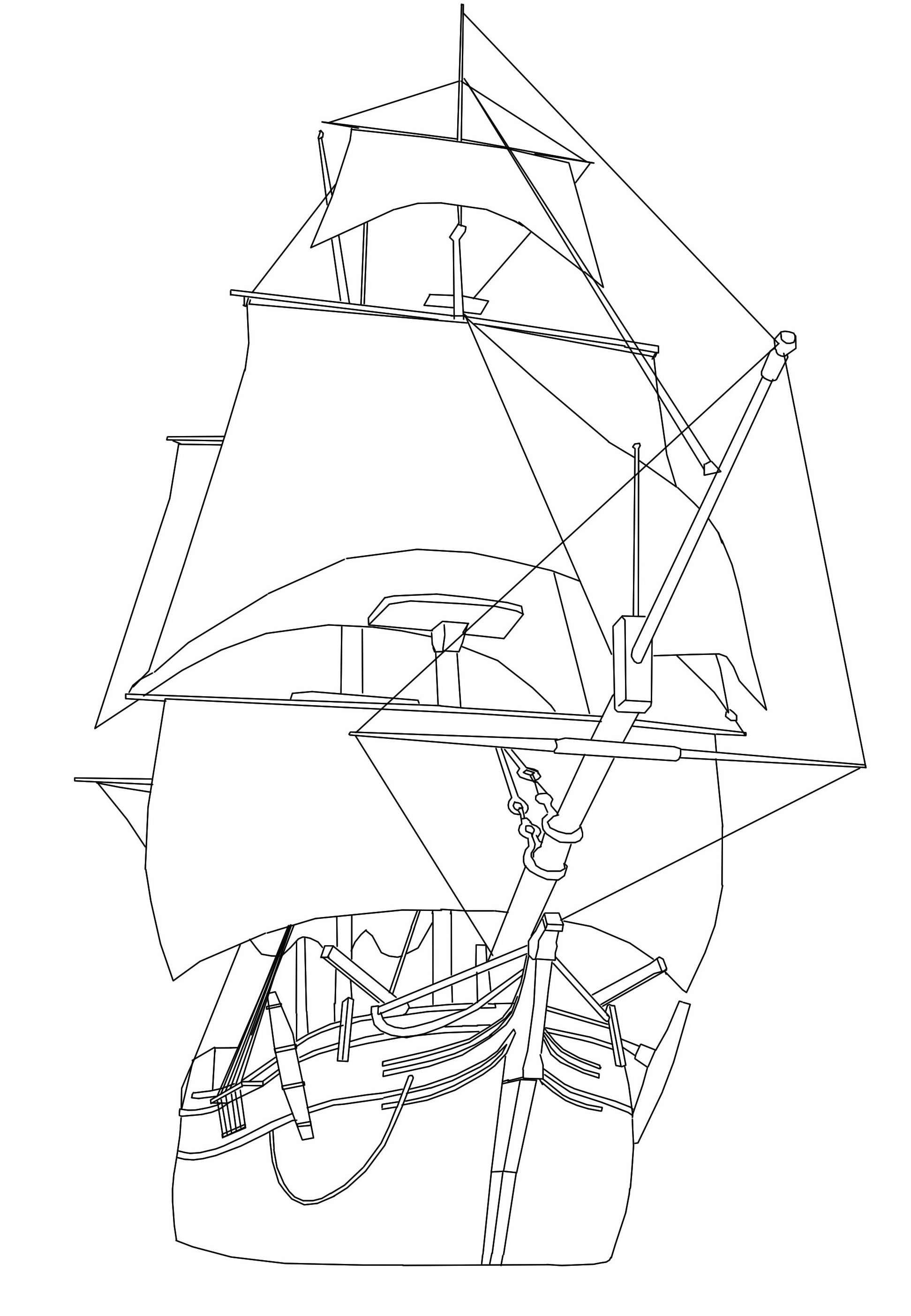 ship drawing clipper ship images line drawing clipart best drawing ship